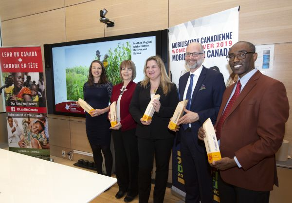 2019 CanWaCH Award winners