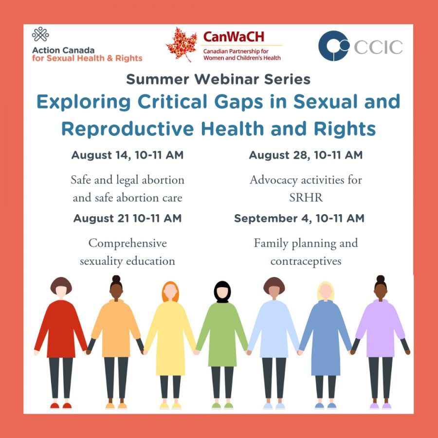 Summer Webinar series exploring critical gaps in SRHR