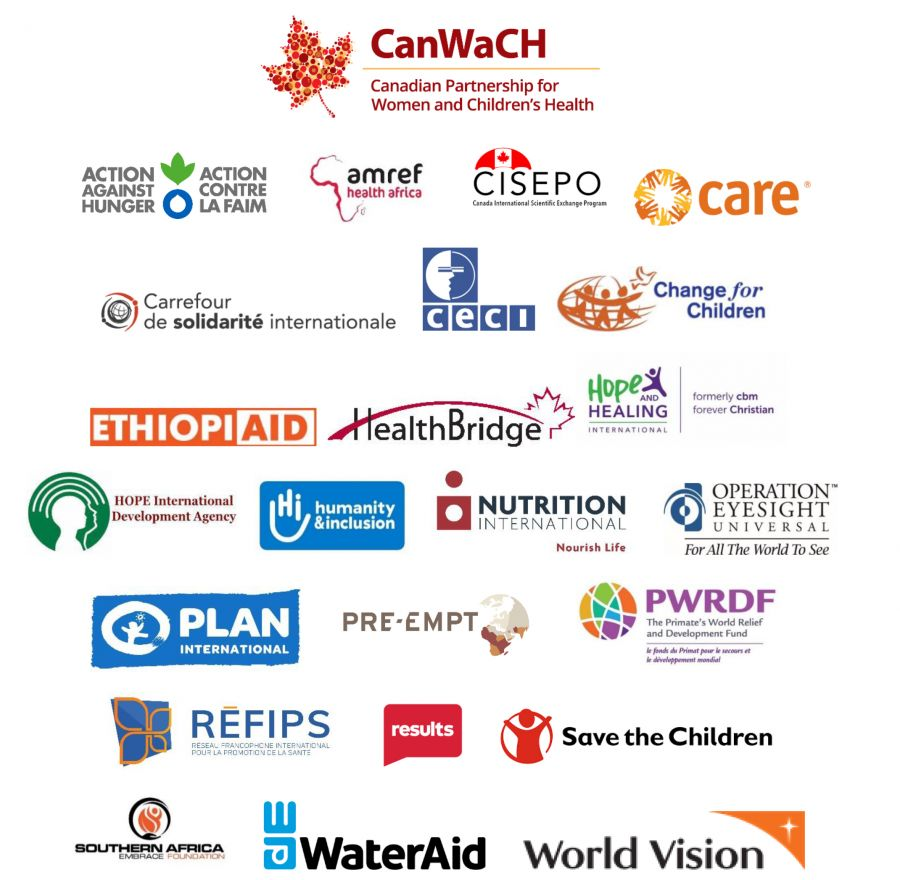 CanWaCH statement logos