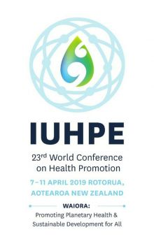 IUHPE 23rd World Conference on Health Promotion