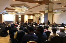 "crowd at ""partnership for change: ending fgm/c"" event in Nairobi, Kenya"