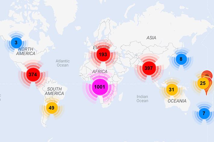Project Explorer map screenshot