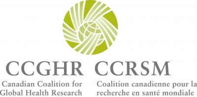 Canadian Coalition for Global Health Research (CCGHR) - Logo