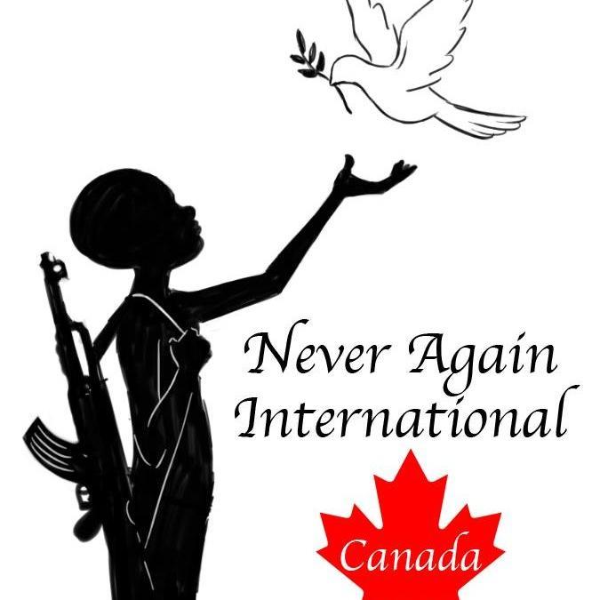 Never Again International – Canada - Logo