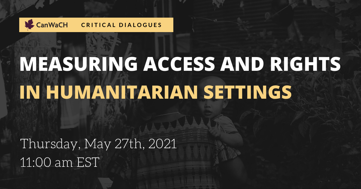 measuring access and rights in humanitarian settings