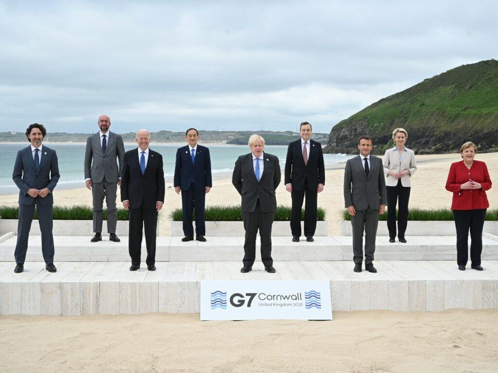 G7 2021 summit leaders